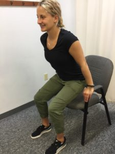 Chair Push Ups